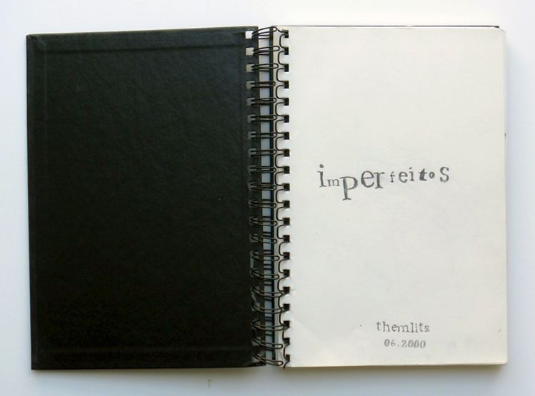 'The Imperfects (Imperfeitos)', 174 pages, graphite on paper, 25,5 x 18 cm, 2000