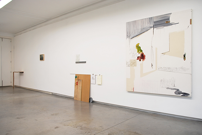 'An A4 Leaned Against The Wall', partial exhibition view MCO Arte Contemporânea, Oporto 2015