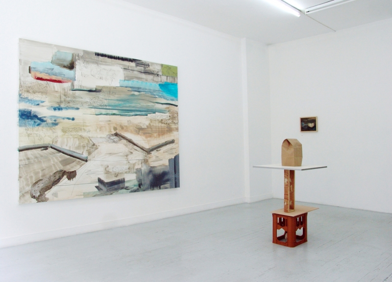 'Le loir est rendormi', partial exhibition view Galerie Houg, Paris, 2015