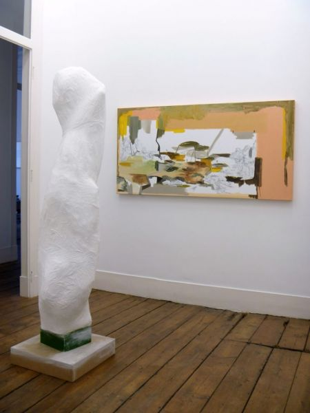'Entre o Tempo' ('Between the Time'), partial installation view, Vera Cortês Art Agency, Lisbon (PT) 2011