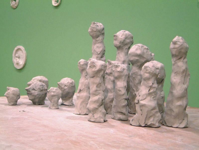 'The Gallery of the Lonesome, Sullen and Self-Absorbed' (detail), D. Luís I Foundation, Cascais (PT) 2001