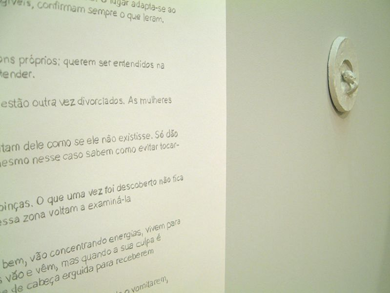 'The Gallery of the Lonesome, Sullen and Self-Absorbed' (detail), Culturgest, Lisbon (PT) 2002
