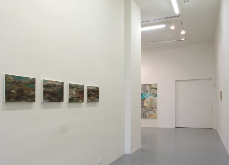 'Ese paciente Laberinto', partial exhibition view Ángeles Baños Gallery, Badajoz (ES) 2015