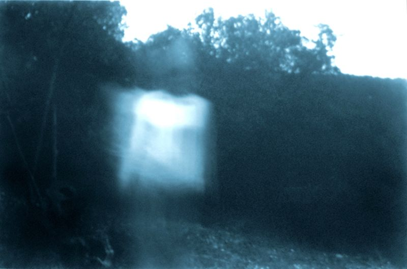 from the series 'Harmless Solitaries (Sintra)', blue-toned black and white camera-obscura on PE coated paper, 40 x 70 cm, 2001