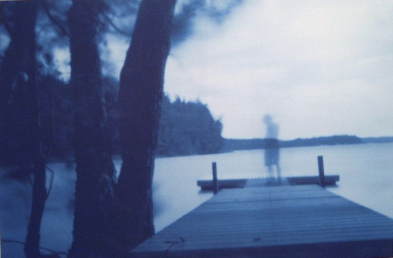 from the series 'Harmless Solitaries (Finland)', camera obscura print on linen, 100 x 160 cm, 2001,
