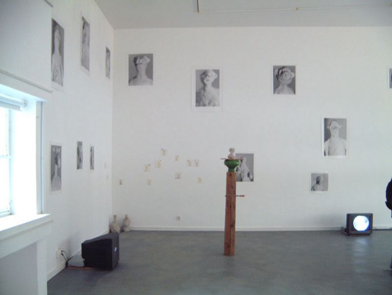 'The Good, the less Good and other Survivers', installation view Slowmotion, ESAD, Caldas da Rainha (PT) 1999